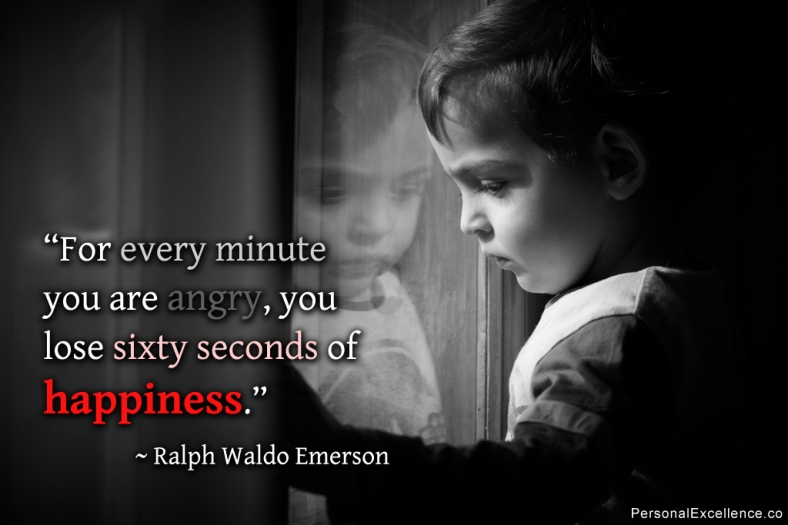 """License     Attribution Some rights reserved by Celestine Chua  Anger """"For every minute you are angry, you lose sixty seconds of happiness."""" ~ Ralph Waldo Emerson"""